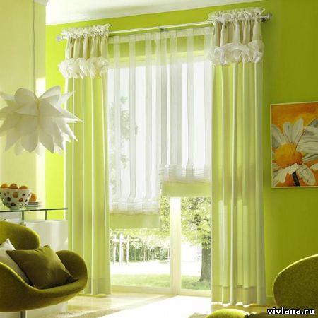 Дизайн портьер на окна